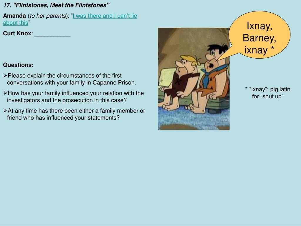 """17. """"Flintstones, Meet the Flintstones"""""""