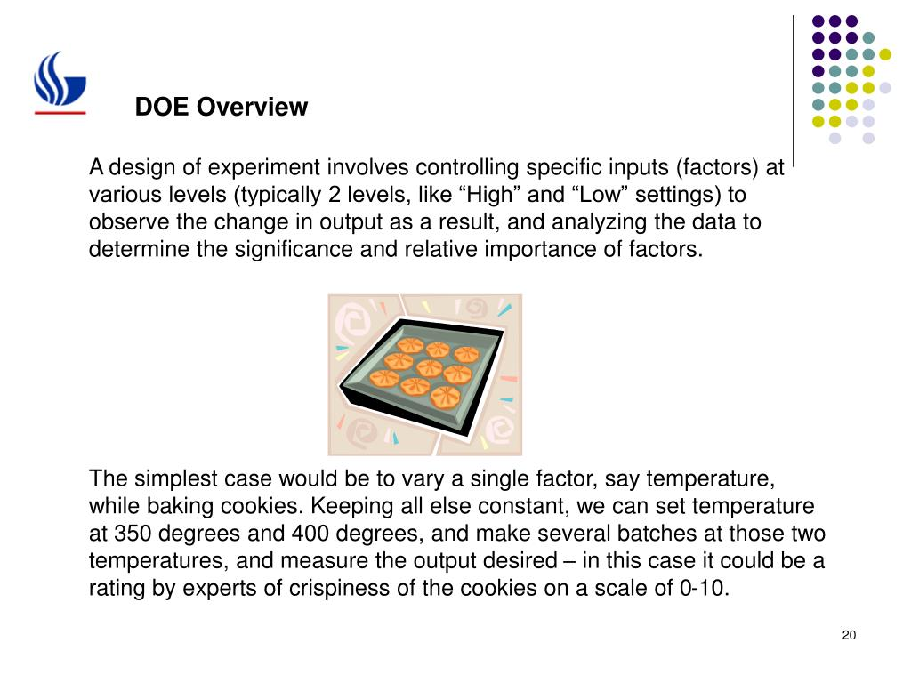 DOE Overview