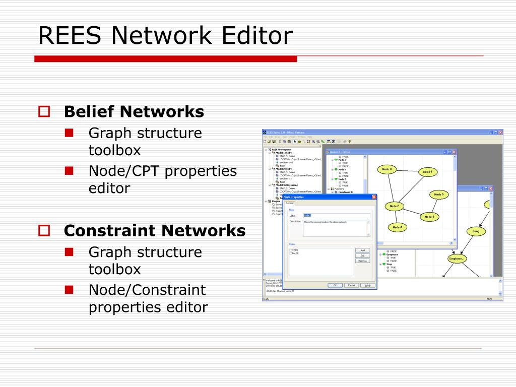 REES Network Editor