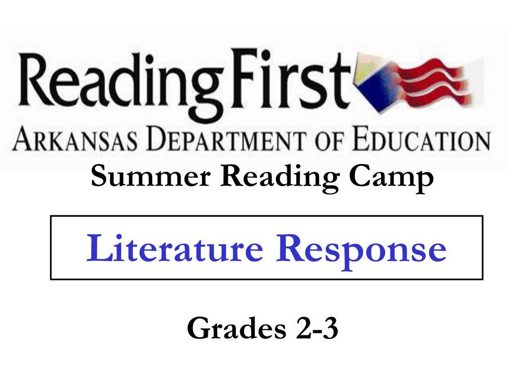 literature response l.