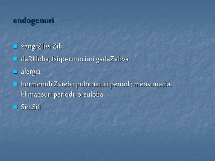 endogenuri