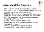 understand the question12