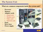 the system unit4