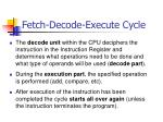 fetch decode execute cycle24