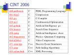 cint 2006