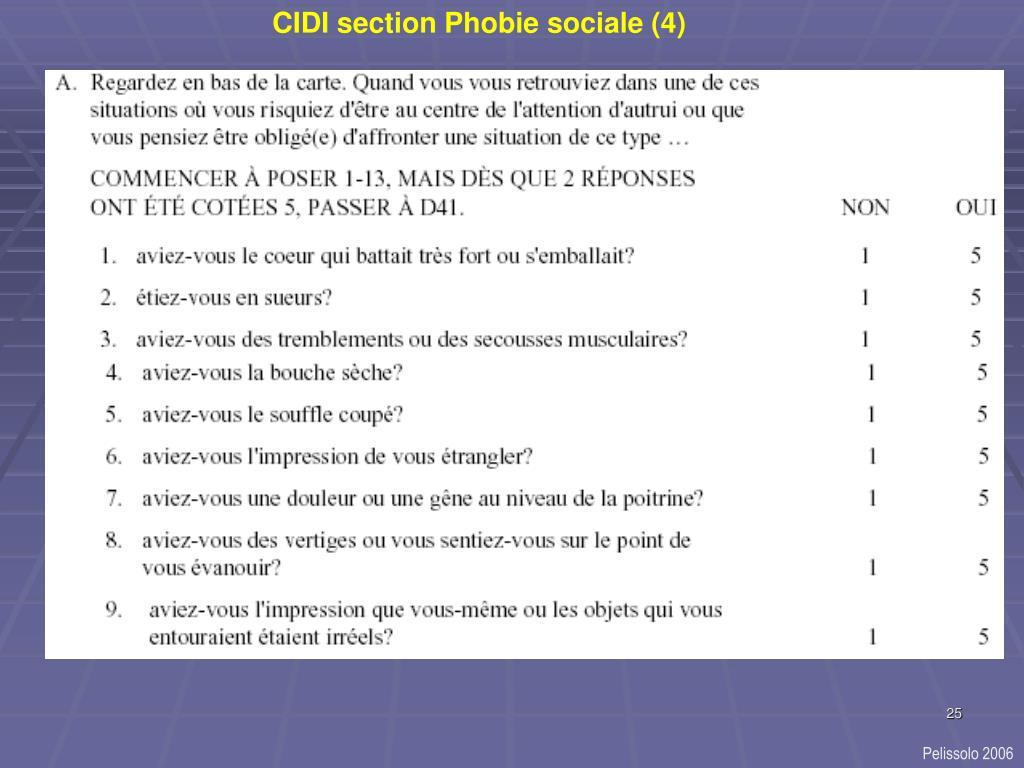 CIDI section Phobie sociale (4)