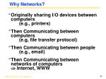 why networks