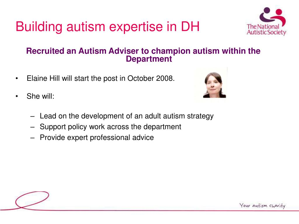Building autism expertise in DH