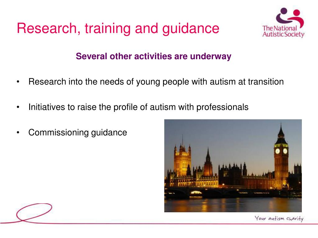 Research, training and guidance