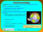 global climate modelling