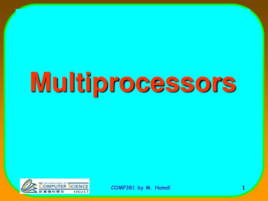 multiprocessors l.