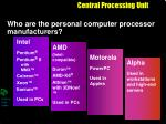 central processing unit14