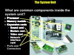 the system unit3