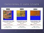 cache memory l1 cache l2 cache25
