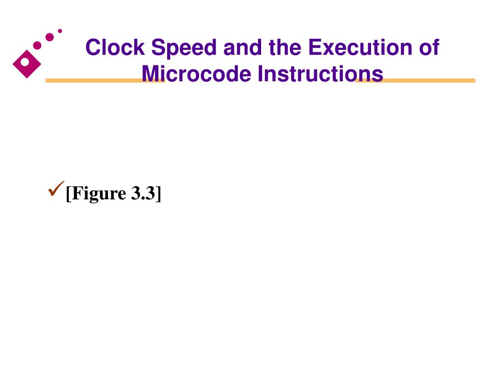 Clock Speed and the Execution of Microcode Instructions