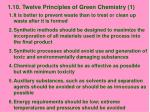 1 10 twelve principles of green chemistry 1