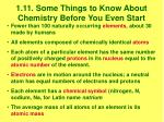 1 11 some things to know about chemistry before you even start