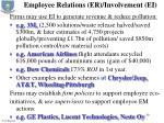 employee relations er involvement ei