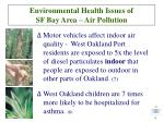 environmental health issues of sf bay area air pollution9