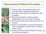 pharmaceutical pollution prevention 18