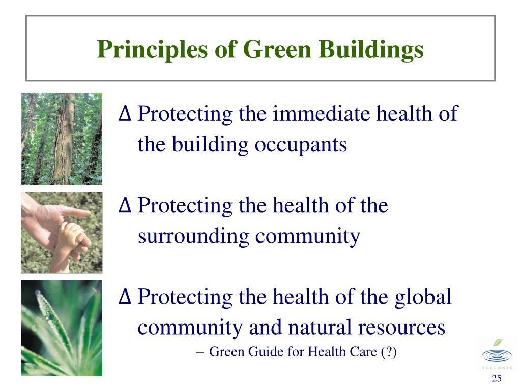 Principles of Green Buildings