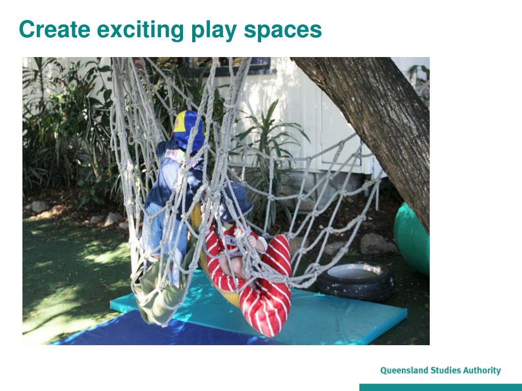 Create exciting play spaces