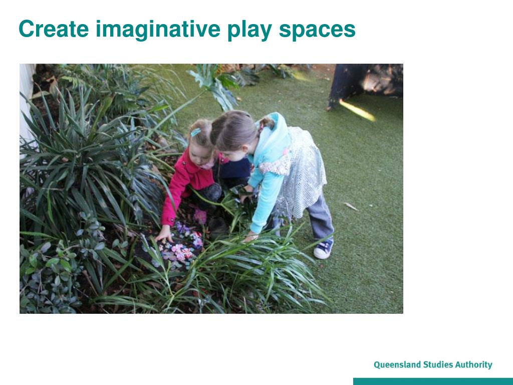 Create imaginative play spaces