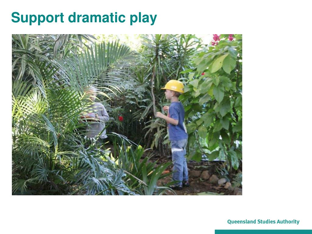 Support dramatic play