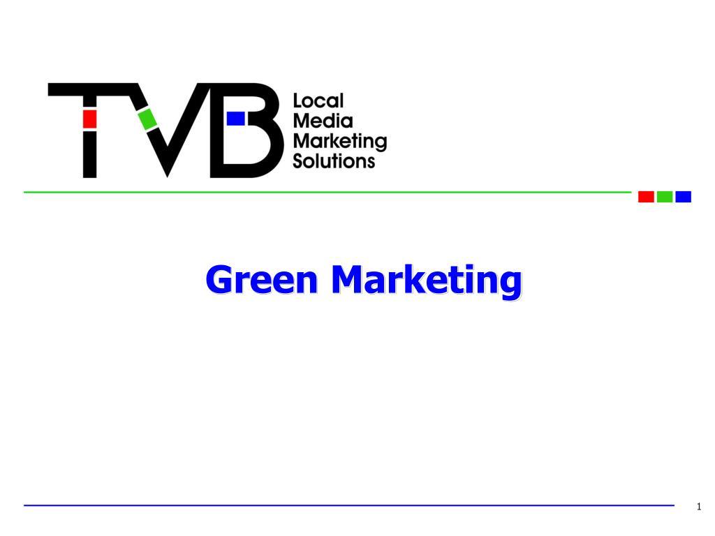 green marketing l.