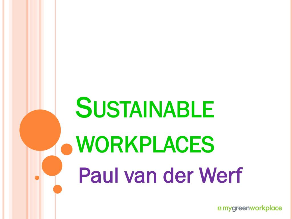 sustainable workplaces l.