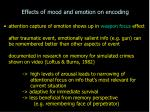 effects of mood and emotion on encoding10