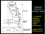 flashbulb memories conway s model