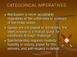 categorical imperatives12