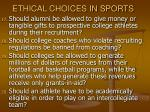 ethical choices in sports34