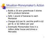 situation moneymaker s action