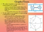 graphs trees
