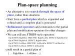 plan space planning