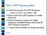 eu s 1993 banana policy