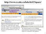 http www cs ubc ca labs lci cispace
