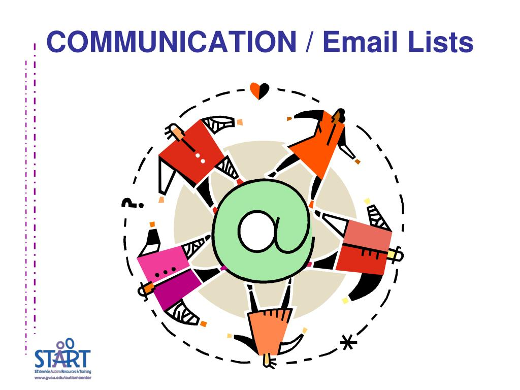 COMMUNICATION / Email Lists