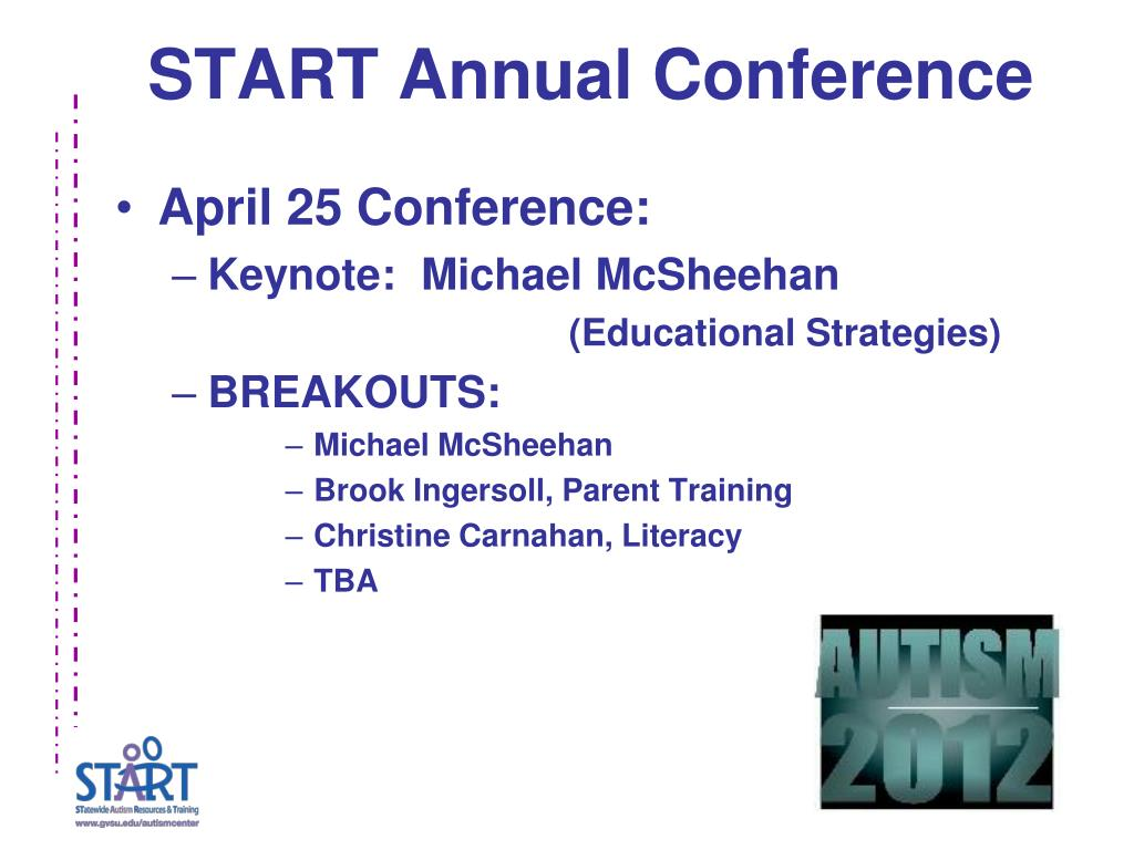 START Annual Conference