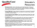 educator s resources