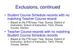 exclusions continued22