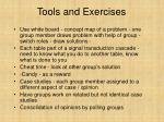 tools and exercises21