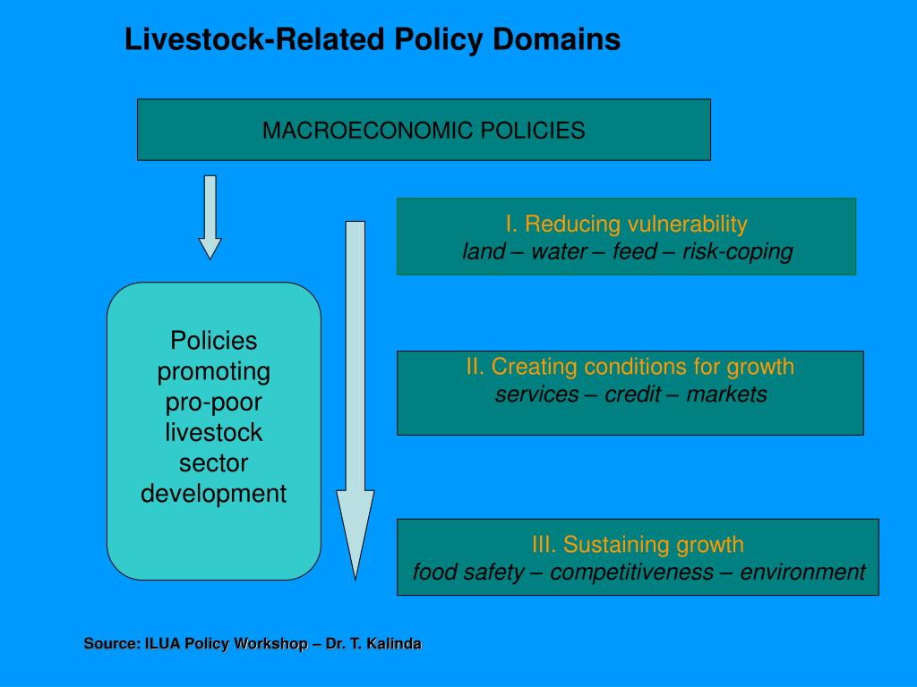 Livestock-Related Policy