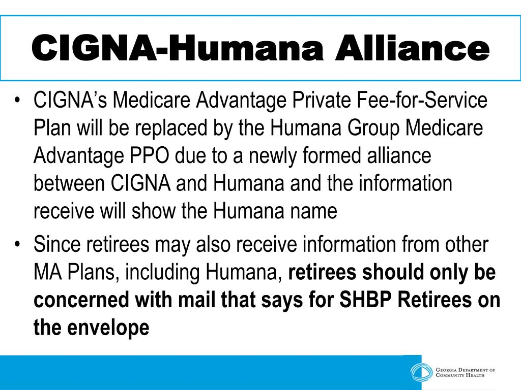 CIGNA-Humana Alliance