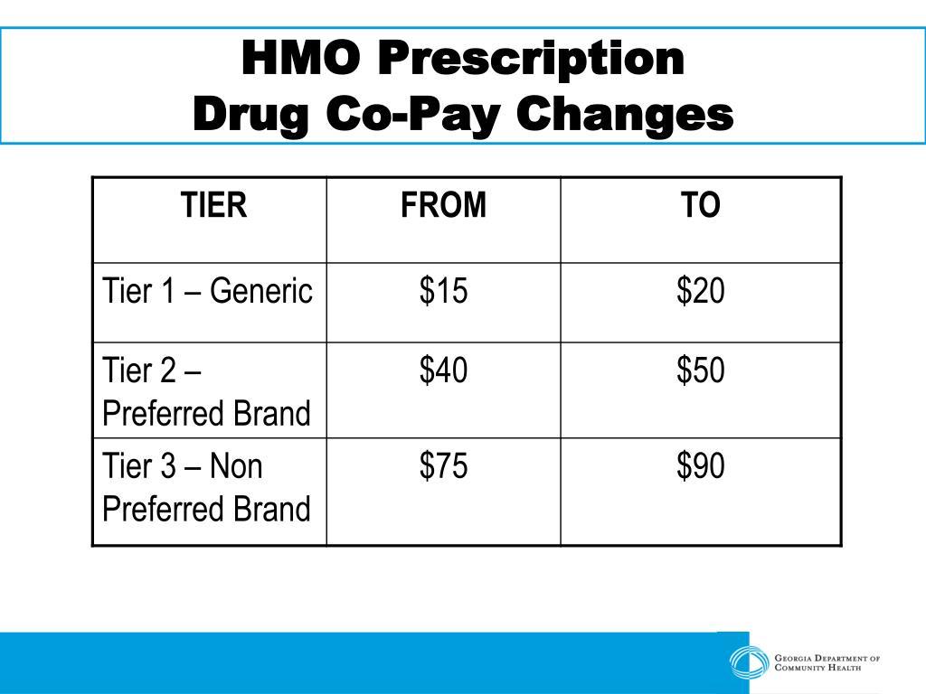 HMO Prescription