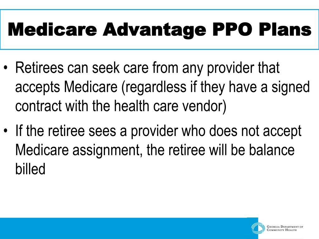 Medicare Advantage PPO Plans