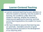 learner centered teaching2