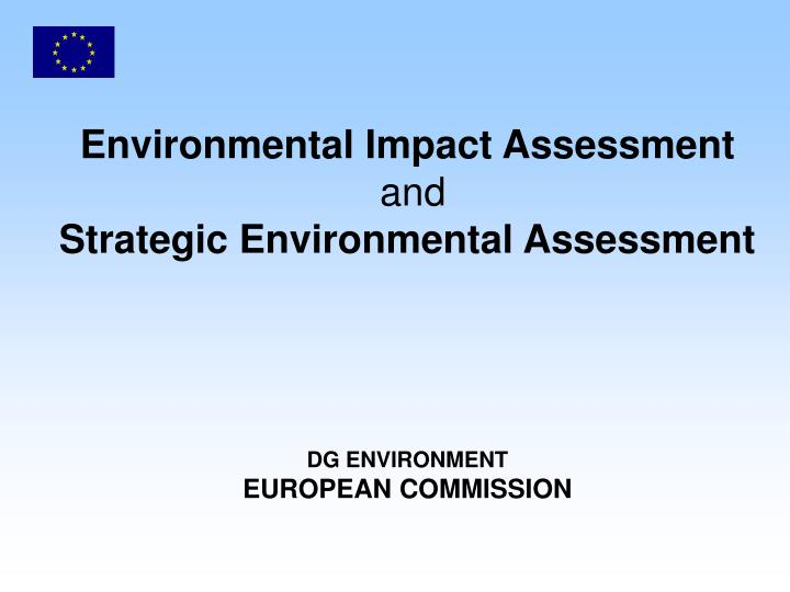 strategic environmental assessment of the integrated Strategic environmental assessment: an international review  and the unep initiative on strategic integrated planning  strategic environmental assessment.